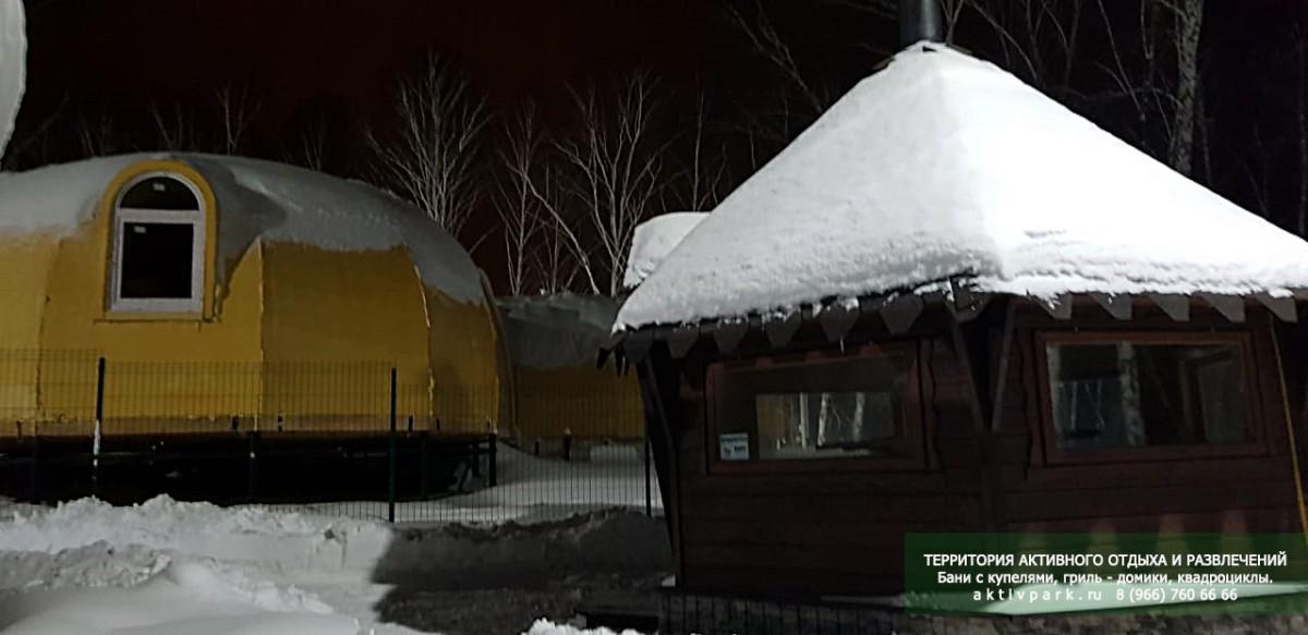 База отдыха в Подмосковье, Кашира - баня, рыбалка, квадроциклы, номерной фонд