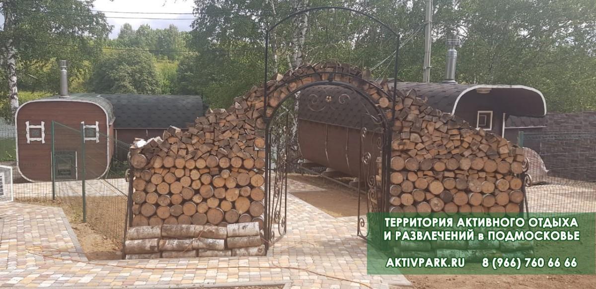 Русские бани в Подмосковье - база отдыха
