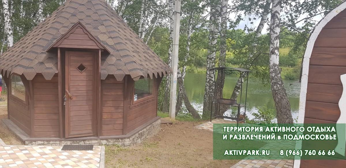 Гриль - домики на базе отдыха в Подмосковье