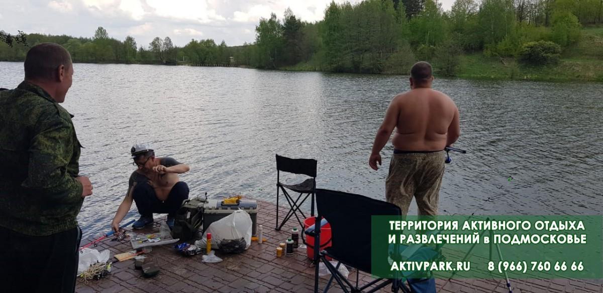 Рыбалка на базе отдыха в Подмосковье