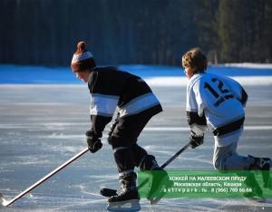 Каток на пруду, хоккей на пруду - Московская область, Кашира - AKTIVPARK.RU