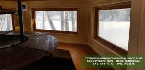 Гриль - домики для барбекю (русские бани) в Подмосковье: Кашира - Ступино