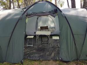 Отдых с палатками на базе отдыха Активпарк