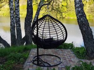 Свадьба на природе в Ступино и Кашире - кресло кокон