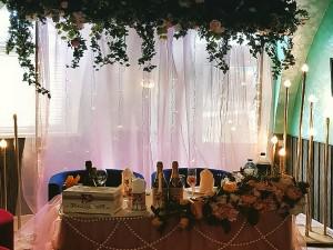 Свадьба в Ступино и Кашире - оформление банкета