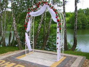 Свадьба на природе в Ступино и Кашире - свадебная арка