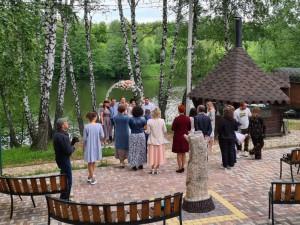 Свадьба на базе отдыха Активпарк в Подмосковье